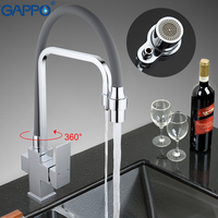 GAPPO Kitchen Mixer Tap Water Filter Tap Torneira Faucets Sink 360 Swivel Flexible Hose Spout Water