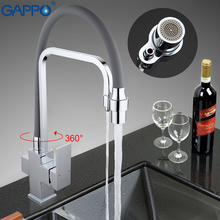 GAPPO kitchen mixer tap water filter tap torneira faucets sink 360 swivel flexible hose spout water kitchen crane faucet