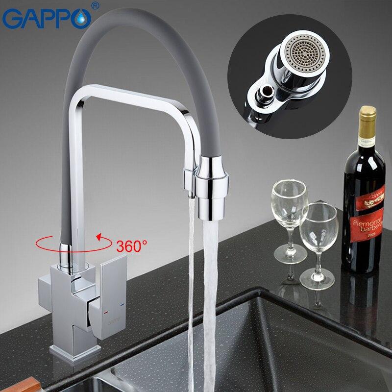 GAPPO mélangeurs de cuisine robinet filtre de robinet torneira robinets évier 360 pivotant tuyau flexible bec d'eau cuisine grue robinet