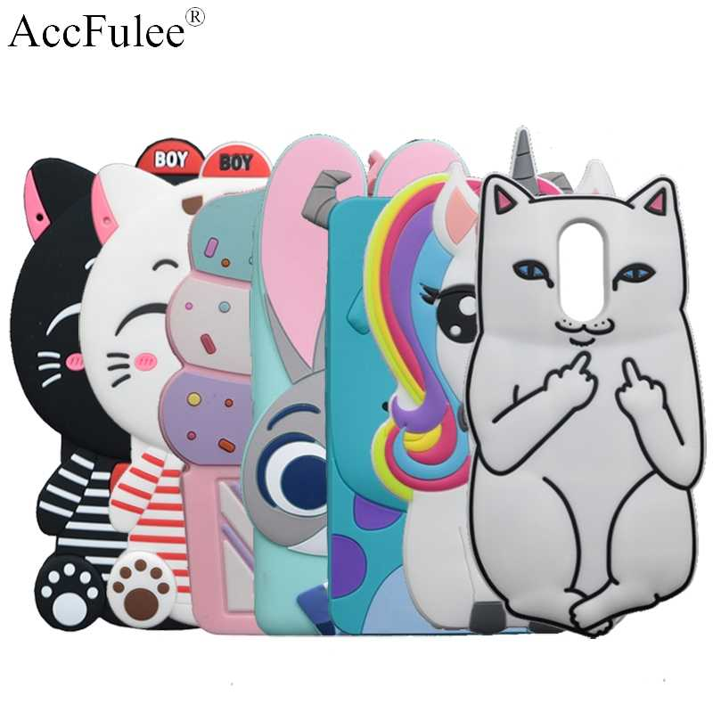 3D Cartoon Stitch Silicone Case For Xiaomi Redmi 5 Plus (Redmi Note 5 India) Hongmi Note 5 Soft Cat Rabbit Horse Sulley Cover