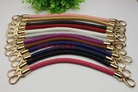 Free Shipping High Quality Leather Strip Bag Strap Purse Accessories Purse Handle Chain Handbag Fashional Handle