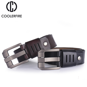 Cowhide genuine leather belts for men 1