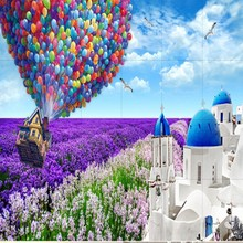 Beibehang Large Seamless Collage 3D TV Background Wallpaper