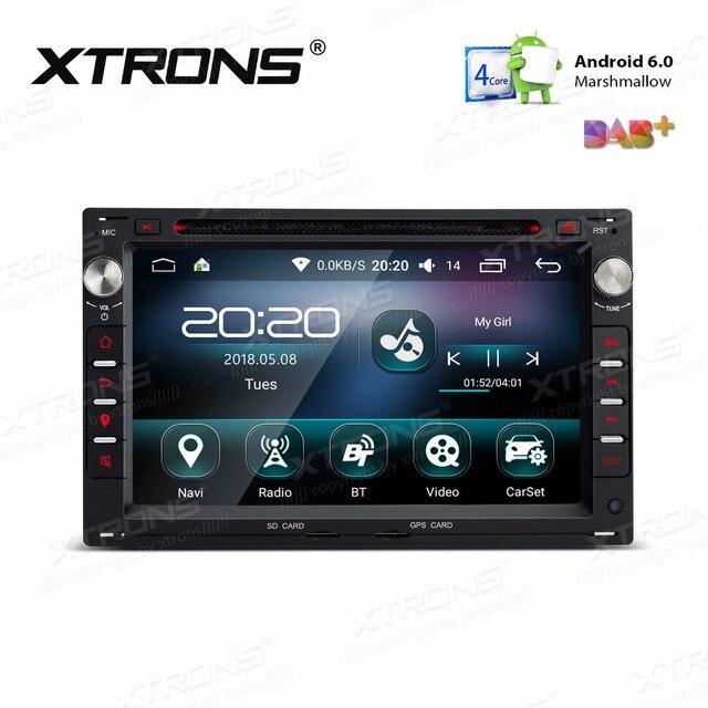 """XTRONS 7 """"Android 6.0 Samochodowy Odtwarzacz DVD Nawigacja GPS dla vw Volkswagen CITI CHICO SHARAN BORA Jetta PASSAT B5 GOLF IV SIEDZENIA SKODA"""