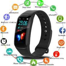 2019 LIGE New Smart Bracelet 1.14 Large Screen Display Heart Rate Blood Pressure Monitor Band fitness tracker Watch