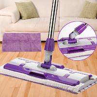 Mop Tool Mops Floor Mop Floor Cleaning Tool Accessories Double Side Flat Hands Free Washable Home Window Cleaner With Mop