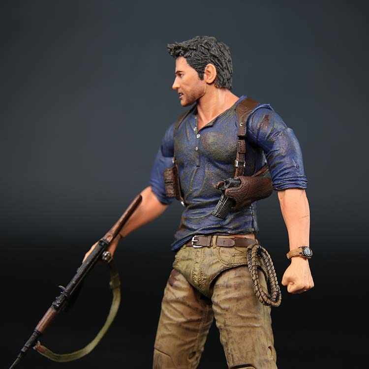 Neca Uncharted 4 A Thief S End Nathan Drake Ultimate Edition Pvc Action Figure Collectible Model Toy 7 18cm