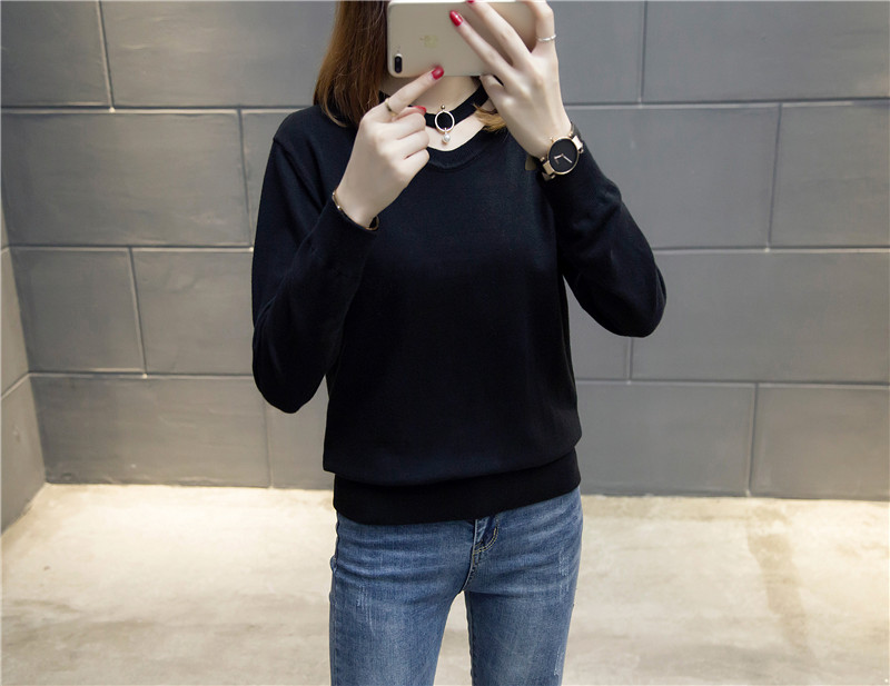 Color See 51 Solid Shirt Chart Autumn 2017 Real see 6471 Winter Chart Bottoming New Style vP0a1wx
