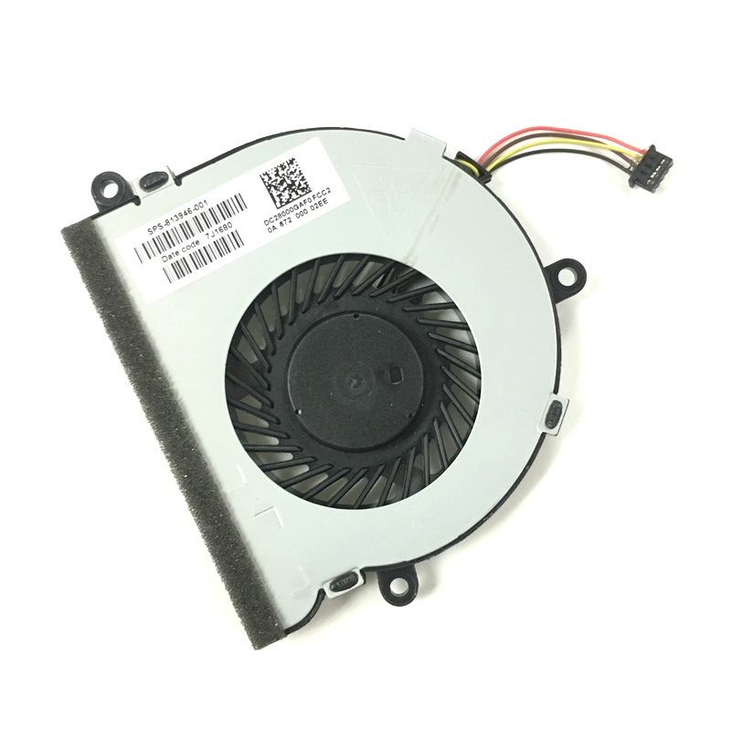 NEW CPU Cooling Fan for HP 15-AC 15-A 15-af 250 g4 15-ac121TX 15-AC121DX 813946-001 DC28000GAF0FCC2 DFS561405FL0T cpu cooling conductonaut 1g second liquid metal grease gpu coling reduce the temperature by 20 degrees centigrade