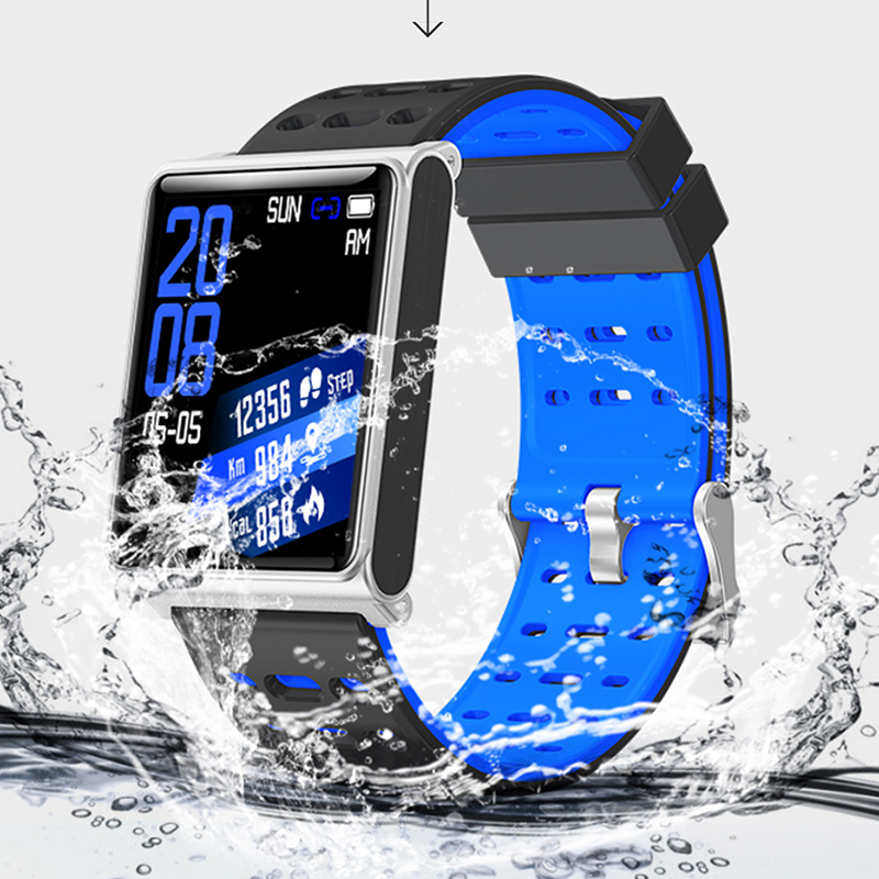 Fitness Mens Smart Watch N98 Fashion Steel Mesh Band IP67 Waterproof Call Bluetooth Business Clock Sports