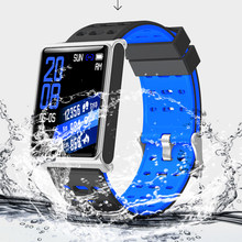 Fitness Mens Smart Watch N98 Fashion Steel Mesh Band IP67 Waterproof Call Bluetooth Business Clock Sports Smart Watch Men Women(China)