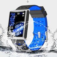 Fitness Mens Smart Watch N98 Fashion Steel Mesh Band IP67 Waterproof Call Bluetooth Business Clock Sports Smart Watch Men Women