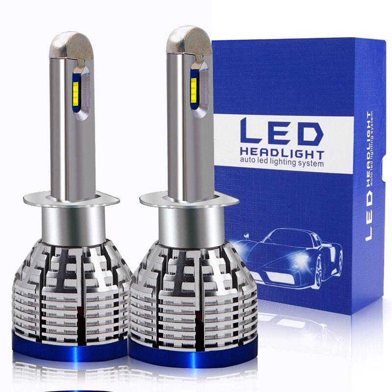Dernières 2 pièces Blanc 6000K 20000LM H1 H4 H7 H8 H9 H11 9005 HB3 9006 HB4 H10 H16JP 9012 HIR2 LED Ampoule Kit De Phare De Voiture