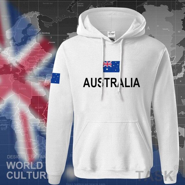 Commonwealth of Australia hoodie men sweatshirt sweat new streetwear clothing jerseys tracksuit 2017 nation Australians flag AU 4