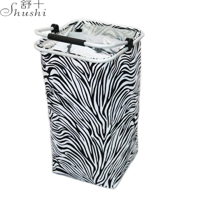 Shushi mare pliabil impermeabil rufe Coș două devider speciale de - Organizarea și depozitarea în casă