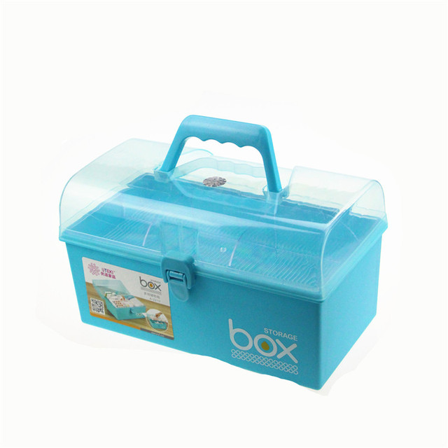 2 Layers Storage Boxes Roughneck Storage Tote Box Use as First Aid Kit for Car  sc 1 st  AliExpress.com & 2 Layers Storage Boxes Roughneck Storage Tote Box Use as First Aid ...