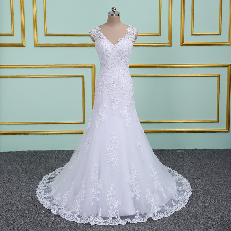 Beach Wedding Dresses 2019: Robe De Mariage Sexy Bohemian Lace Vintage Appliques Boho