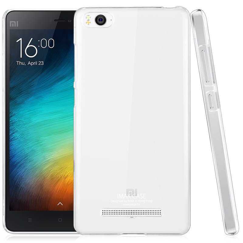 buy online 98483 53a60 US $3.77 |Original IMAK Super Thin Transparent Clear Crystal II Ultra Thin  Shell Hard Back Case For Xiaomi mi 4i/Mi4i/xiaomi 4i on Aliexpress.com | ...