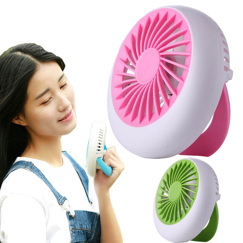 Rechargeable Fan USB cooling fan Portable Desk Mini USB Fan Office USB electric air conditioner small hand Adjustment 1200mA