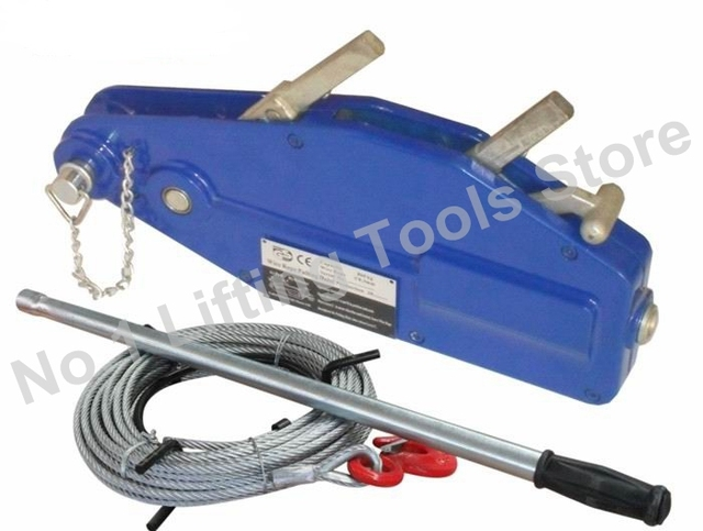 1.6 T wire rope pulling hoist with aluminum alloy steel -in Lifting ...