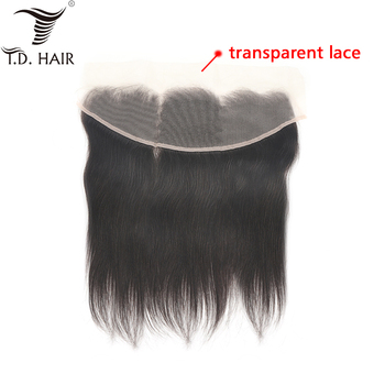 Peruvian Transparent Lace 13*4 Straight Lace Closure Natural Hairline Swiss Lace Remy Hair 100% Virgin Human Hair Lace Closure