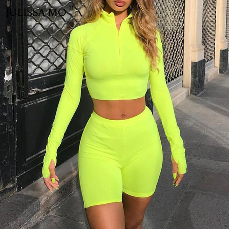 SIBYBO Autumn Zipper Two Pieces Bodycon   Jumpsuits   For Women Overalls 2018 Letter Print Bodysuits Sexy Club Rompers And   Jumpsuit