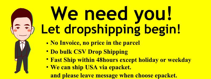drop shipping---