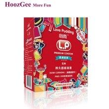 HoozGee Любви Пудинг Презервативов большей Безопасности Супер-смазки Ультра-тонкий Латексный Презерватив для Мужчин Секс-Игрушки Продукты 100 шт./лот