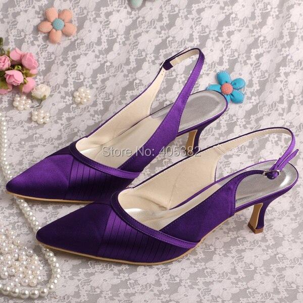 Off White Satin Wedding Shoes
