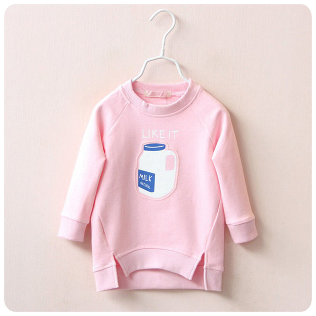 Girl short after long oblique mouth before Christmas girls fashion leisure clothes