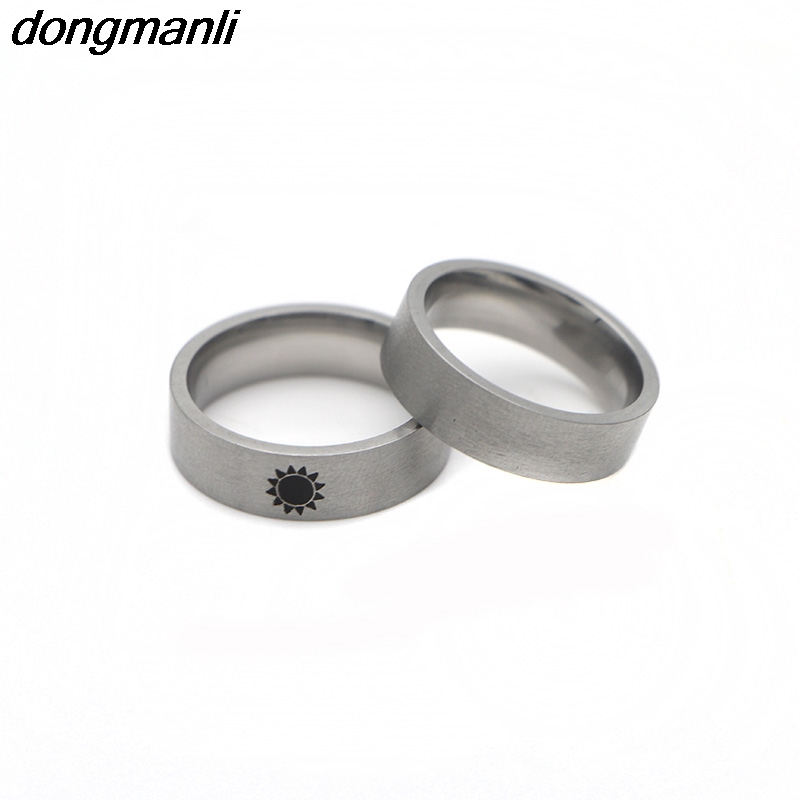 P773 Dongmanli Game of Thrones Sun And Moon Ring Simple Couples