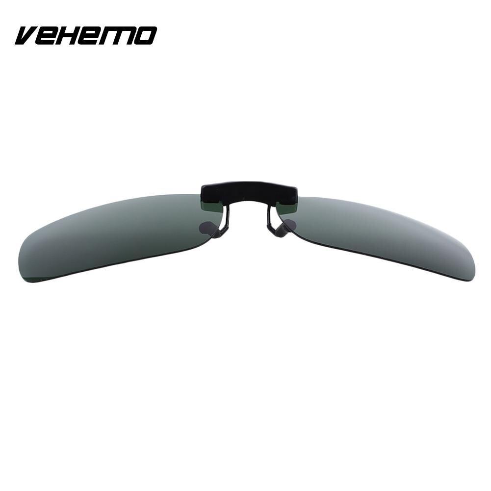 Vehemo замена Поляризованные линзы флип для солнцезащитных очков UV400 Солнцезащитные очки вождения - Цвет: Polarizing dark gree