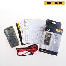 FLUKE F101KIT Высокая точность Цифровой Мультиметр Карманный Цифровой Мультиметр размером с ладонь с магнитным ремешком мультиметр