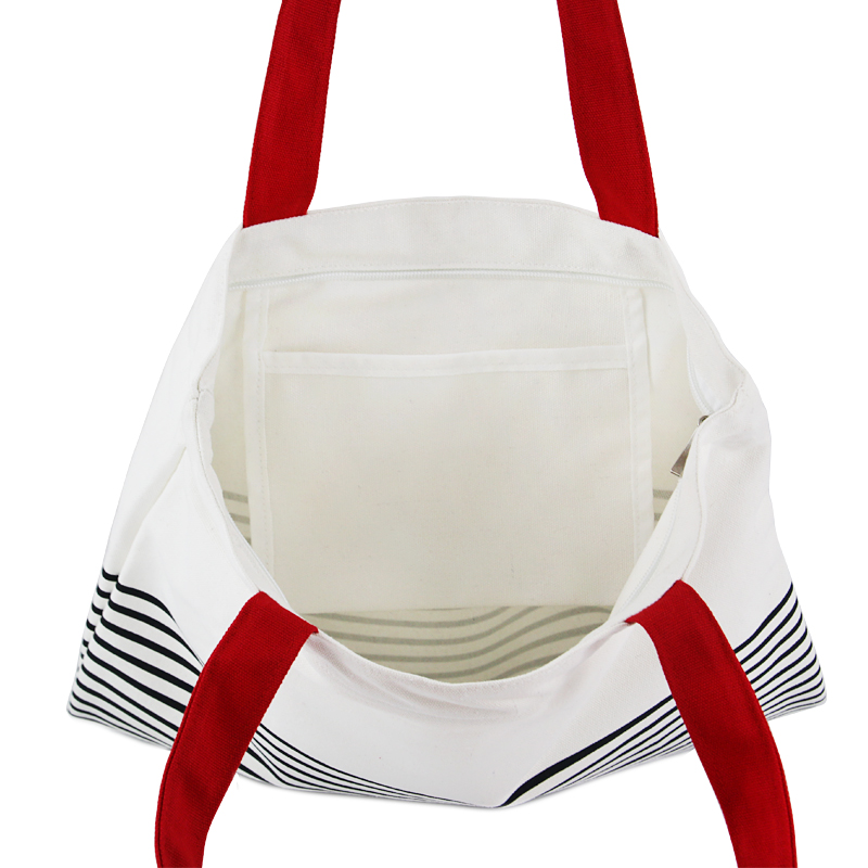 tangimp mulheres listrado bolsas de Feature 3 : Folding Shopping Bag