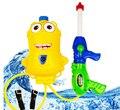 Despicable Me Minion Mochila Pistola de Pulverización de Agua De Presión de Aire De Plástico Niños Niños Juguetes de Playa de Verano