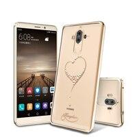 KINGXBAR Cover For Huawei Mate 9 Capa Coque Funda Diamond Plated PC Case For Huawei Mate