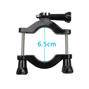 Image 4 - Handlebar Seatpost Pole Mount Bracket for GOPRO Hero 5 3 4 Session h9r for SJCAM for XIAOMI YI 4K + Lite Bicycle Motorcycle Pipe