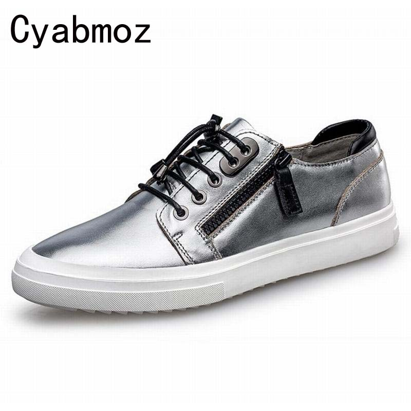 top quality men luxury wedding party dress genuine leather shoes flats platform oxfords loafers zippers casual Zapatos Hombre good quality men genuine leather shoes lace up men s oxfords flats wedding black brown formal shoes