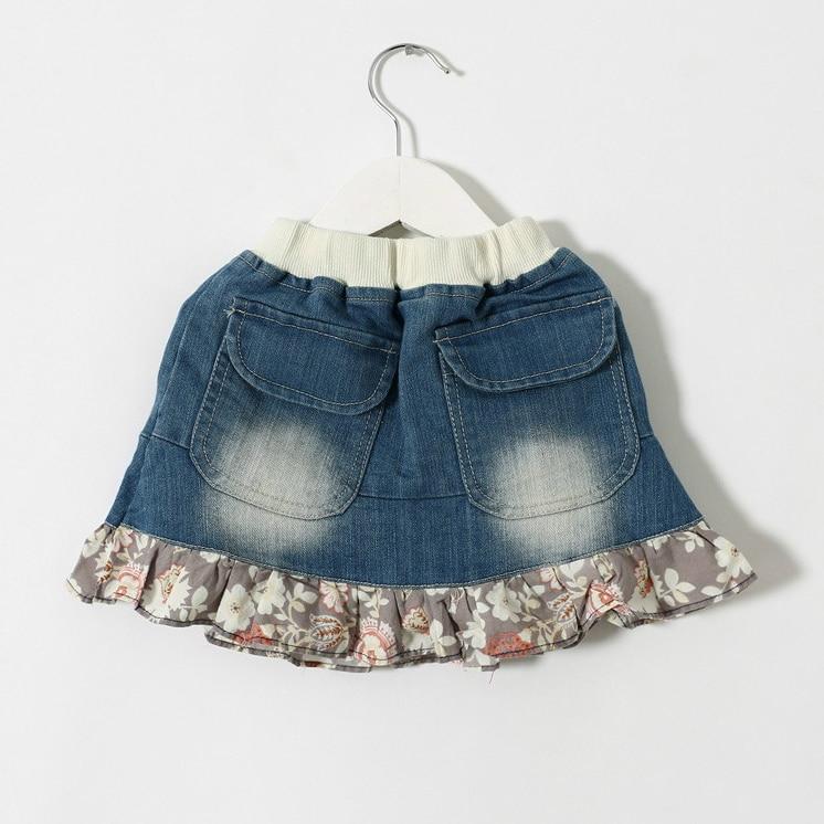 Popular Baby Girl Ruffle Denim Skirt-Buy Cheap Baby Girl Ruffle ...