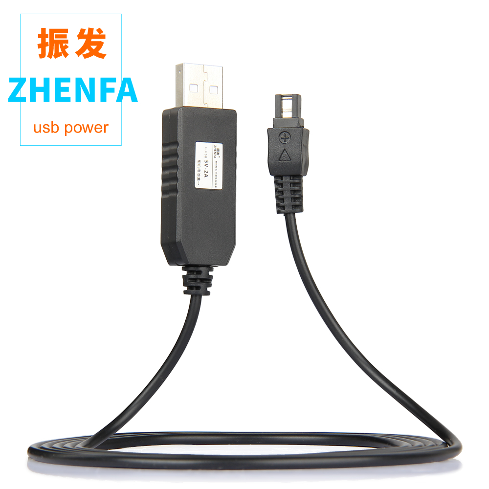 Tüketici Elektroniği'ten AC/DC Adaptörler'de 5 V USB AC L200 AC L200B AC L200C AC L25 güç adaptörü şarj kaynağı Sony DSC HX1 DCR UX5 UX7 HDR XR100 NEX VG30 VG900 title=