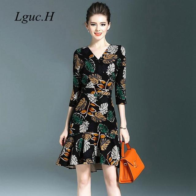 De Vintage À LgucH Robe Mode Élégant La Automne 2018 Luxe kXnO8wP0