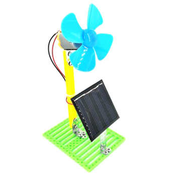 Solar Powered Electric Fans DIY