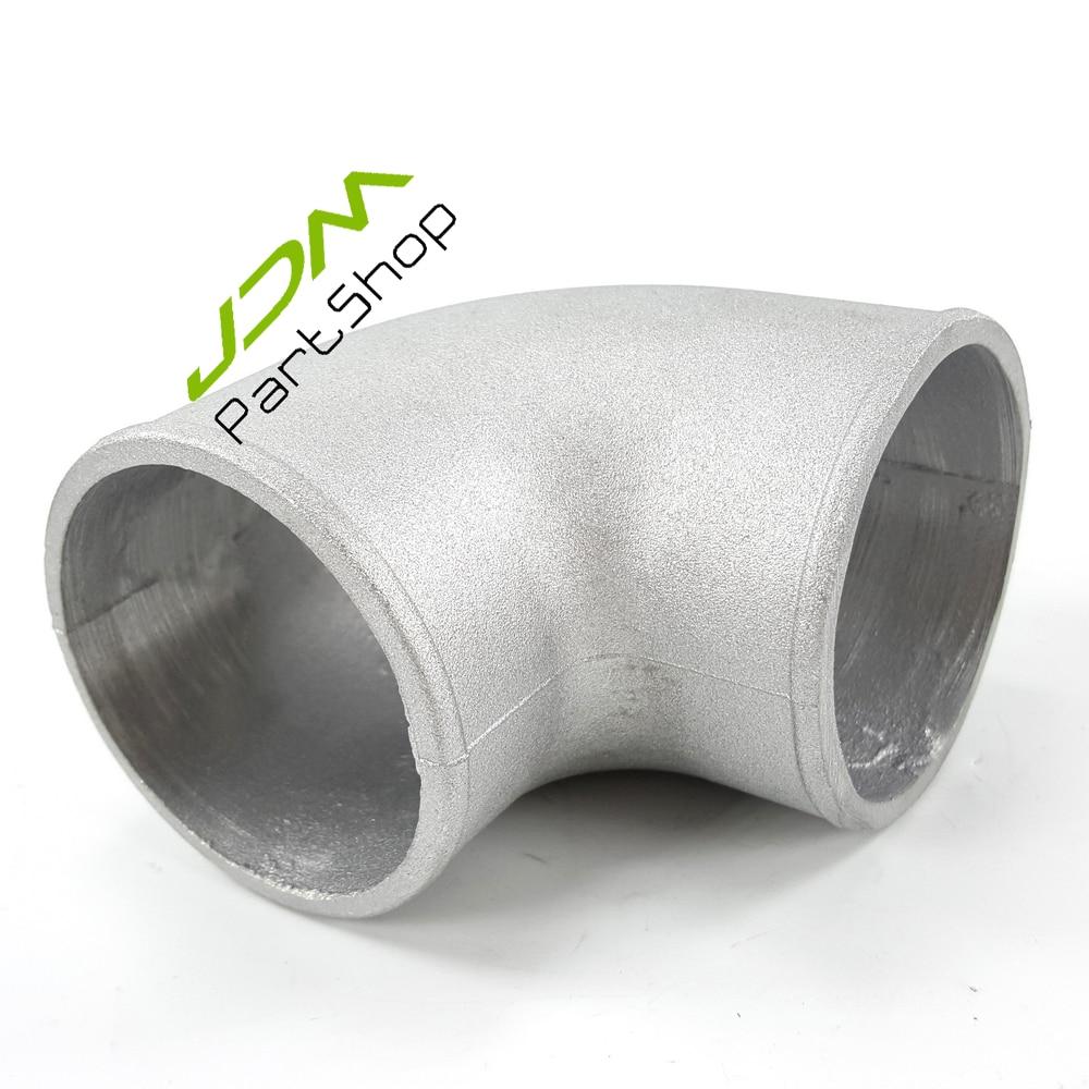 """2.5"""" Inch 63mm Cast Aluminium Elbow Pipe 90 Degree"""