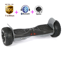 No tax Bluetooth Speaker 8.5 inch Self Balancing Electric Scooter Standing Drift Overboard Unicycle Skateboard UL2272 Hoverboard