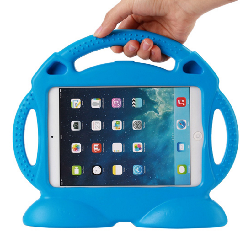 Canton Case For Apple Ipad 5 /Ipad Air 1 Handgrip Stand Shock Proof EVA Full Body Cover Kids Safe EVA For Ipad A1474 A1475