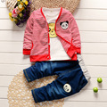 Kids Clothes Boys Girls 2016 Baby Boys Autumn Coats And Jackets Pants Set Fashion Children Clothing Sports Suit Boy 3pc/set