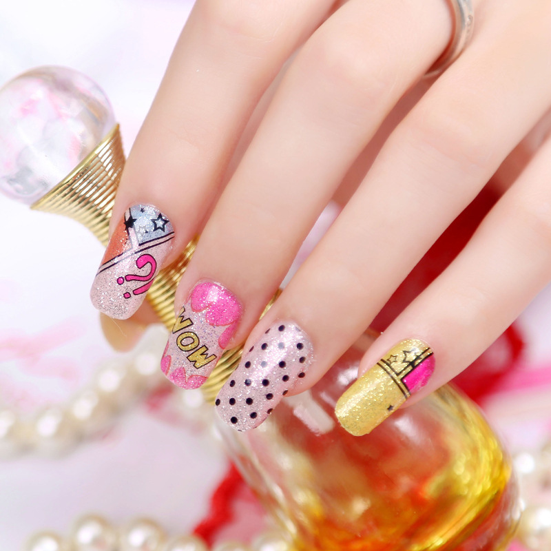 Full Nail Stickers 12pcs1sheet High End Top Quality Full Cover Nail