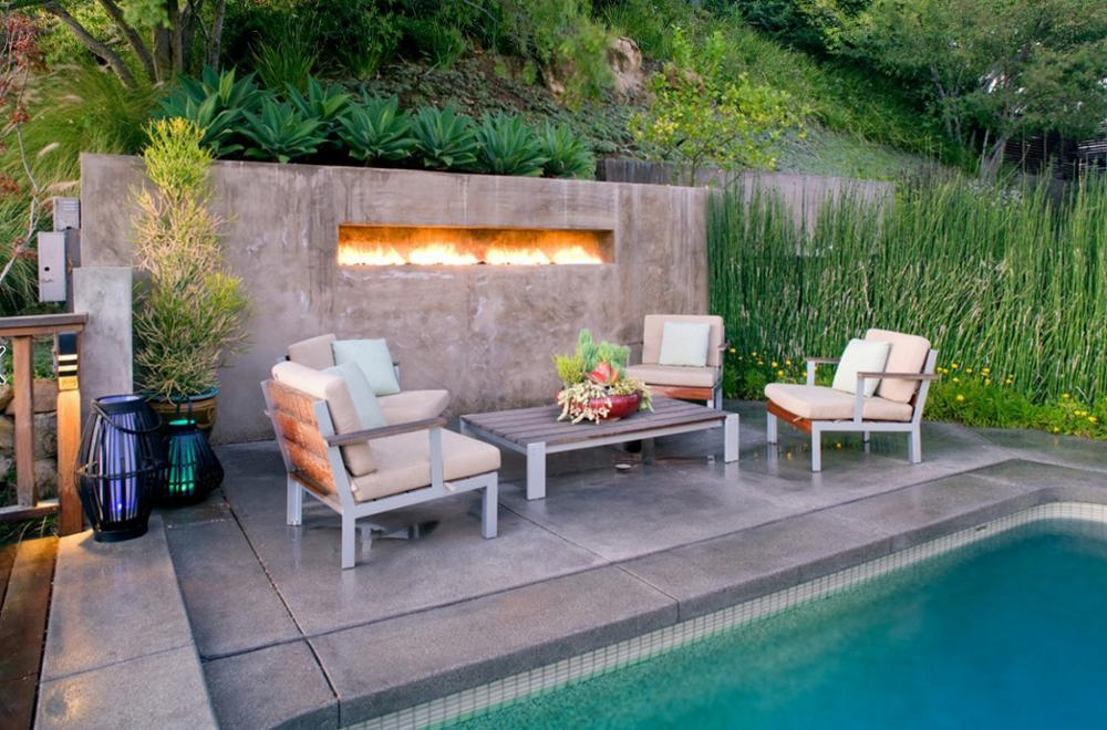 Inno Living Fire 48 Inch Fireplace Inserts For Exterior Use  Buitenhaard Bioethanol