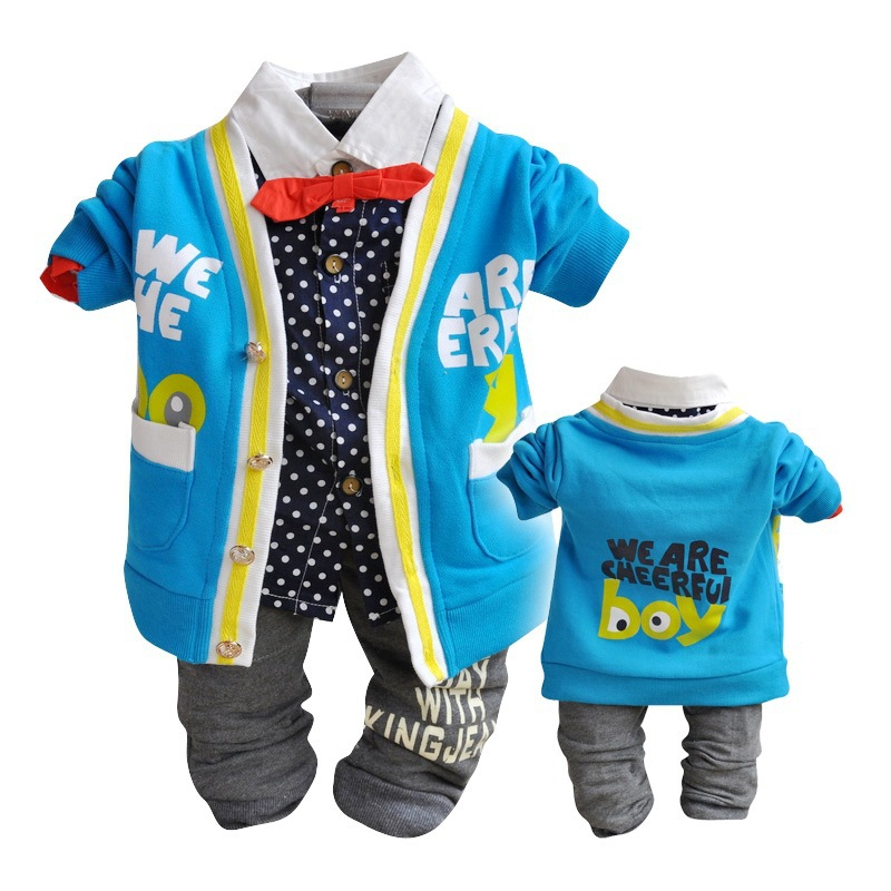 ФОТО Anlencool Free Shipping New spring 2017 Baby Set Brand Newborn Clothes Autumn Clothing Fashion Boys Suit Wear baby clothing