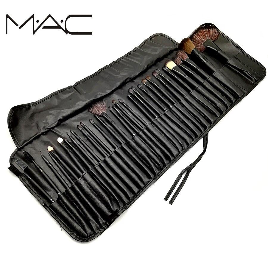 MAC Makeup Brushes 32 Pieces Makeup Brush Set Face Eyeliner Blush Contour Foundation Cosmetic Brushes With ...